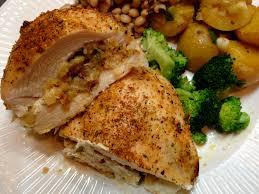 savory southern stuffed chicken drick u0027s rambling cafe