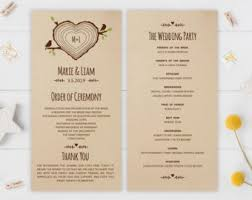 Wedding Program Fans Cheap Kraft Mason Jar Wedding Program Fans Two Sided 50 Fans