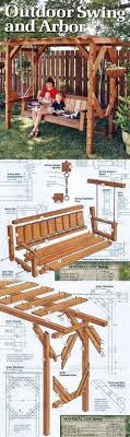 arbor swing plans outdoor arbor swing plans outdoor furniture plans and projects