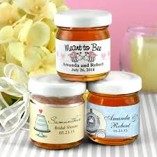honey favors personalized honey jar wedding favors