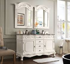Traditional Bathroom Vanity by James Martin Costa Blanca Double 60 Inch Traditional Bathroom