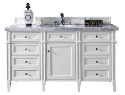 60 In Bathroom Vanities With Single Sink by James Martin Furniture Brittany 60