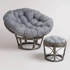 Small Chair And Ottoman by Furniture Inspiring Cheap Green Rattan Mini Papasan Chair And