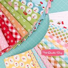 sew cherry 2 half yard bundle lori holt for riley blake designs