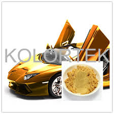 gold paint powder gold pearl pigment color mica powder for car
