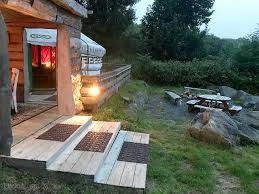 gwaun view yurts fishguard wales pitchup com