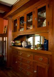 Built In Cabinets In Dining Room by Pass Through Built In Buffet Cabinet Furniture Pinterest
