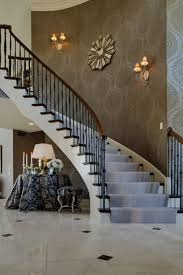 Ideas To Decorate Staircase Wall Enchanting Staircase Wall Decorating Ideas Staircase Wall