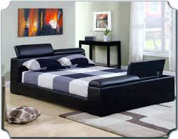 Modern Metal Bed Frame Queen Bed Frame With Headboard And Footboard Including Bedding