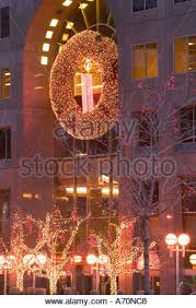 Cheap Christmas Decorations In Montreal by Christmas Mcgill Avenue Downtown Montreal Stock Photo Royalty