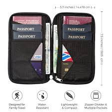 Pennsylvania travel document holder images Passport wallets jpg