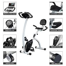 Comfortable Exercise Bike Exercise Bike Adjustable Folding Upright Magnetic Stationary