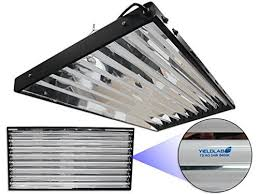 t5 fluorescent grow lights review yield lab complete 54w t5 eight bulb fluorescent grow light panel