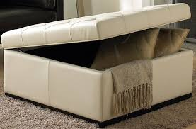 unique upholstered ottoman with storage attractive large ottoman