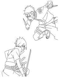 hd wallpapers coloring pages naruto sasuke fut earecom press