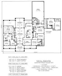 house plans 5 bedroom 4 bath arts