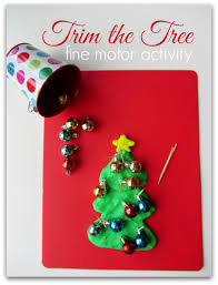 trim the tree motor activity for no time for flash cards