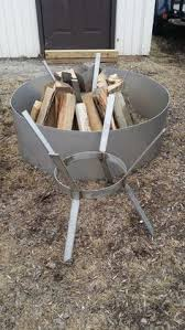 Higley Fire Pits by Stainless Steel Gas Burner Fire Pit Pans Any Dia And Depth Holes