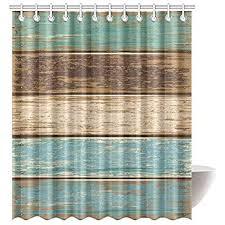 amazon com western shower curtain decor southwestern cowboy hat