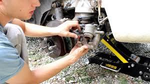replacing rear brakes on hyundai santa fe 2007 pad youtube