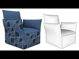 An Armchair Modeling An Armchair In Sketchup With Artisan Youtube