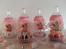 baby bottle favors 12 minnie mouse fillable bottles favors prizes baby shower