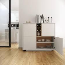 oak finish storage cabinet temahome contemporary niche storage cabinet in pure white oak finish