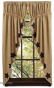 Primitive Kitchen Curtains 22 Best Primitive Curtains Images On Pinterest Primitive
