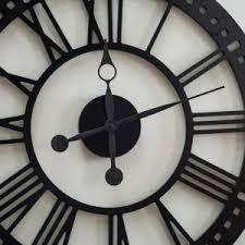 Giant Wall Clock Oversized Wall Clocks On Hayneedle Decorative Large Wall Clocks