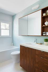 White And Blue Tiles In Bathroom Superb Surface Mount Medicine Cabinet In Bathroom Contemporary