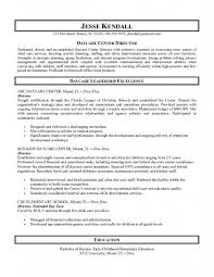 Personal Carer Resume Daycare Resume Examples Daycare Resume Samples Objective Child