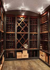custom cabinetry displays the homeowner u0027s extensive wine
