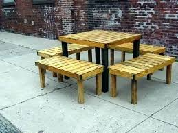 tables made out of pallets garden furniture made out of pallets nhmrc2017 com