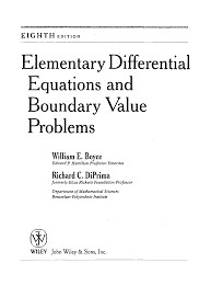 fundamentals of diffeial equations solutions manual 8th edition