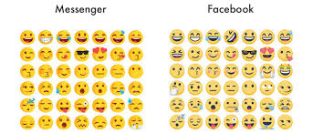 clean emoji facebook messenger no longer using custom emoji style