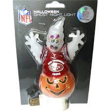 san francisco 49ers halloween ghost night light free shipping on