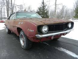 1969 camaro x11 1969 camaro clone a z28 rs ss 350 396 4spd project roller x11 code
