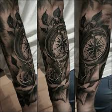 tattoo compass realistic compass tattoo symbolism meaning gives true direction tattoos