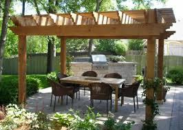 Pergola Outdoor Kitchen Outdoor Kitchens Bulldawg Yards
