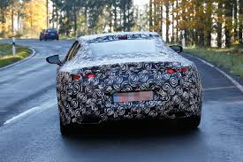 lexus lc aston martin spyshots production lexus lf lc coupe spied near the nurburgring