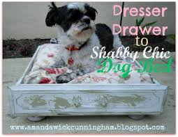 Shabby Chic Dog Bed by Kaleidoscope Of Colors Dresser Drawer To Shabby Chic Dog Bed