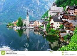 hallstatt austria stock photo image 41562860