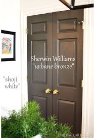 sherwin williams urbane bronze use as black substitute adore