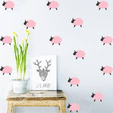 Home Decoration Stickers by Online Get Cheap Sheep Wall Stickers Aliexpress Com Alibaba Group