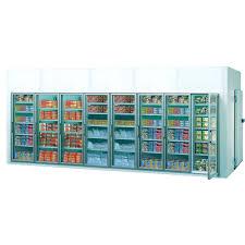 achat chambre froide chambres froides avec portes en verre 6 60 x 2 20 x 2 40 m hauteur