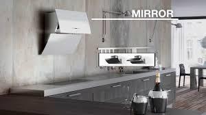 designer kitchen extractor fans faber mirror youtube