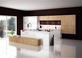 cuisine plus merignac cuisine modèle cottage en stratifié décor bois cuisine