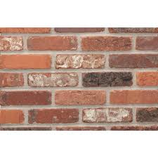 providence alberta cut kiln fired thin brick tumbled smooth tile