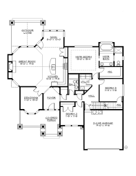 Four Car Garage House Plans by Craftsman Style House Plan 4 Beds 3 00 Baths 2580 Sq Ft Plan