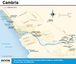 Astoria Usa Map by Pacific Coast Route Cambria Ca Road Trip Usa